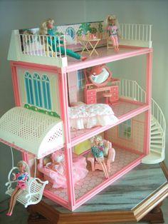 E a casa da Barbie DE VERDADE, mais ainda.   20 brinquedos que você desejou demais nos Natais passados