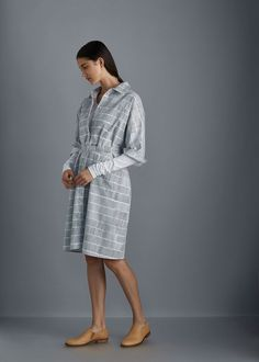 Etched Dress by Kowtow. Ethical organic cotton.