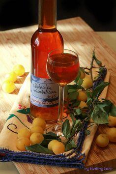 Nalewka mirabelkowa - My Blueberry Corner wieczorem Blueberry, Corner, Wine, Bottle, Cooking, Food, Cuisine, Blueberries, Kitchen