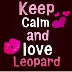 ♥♥ leopard Margaritas, Animal Print Fashion, Animal Prints, Red Leopard, Keep Calm Quotes, Me Quotes, Jaguar, Do Love, Cheetah Print