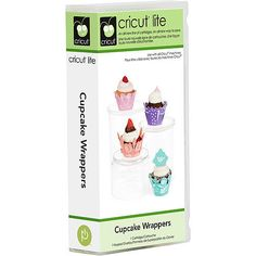 Cricut Cartridge Cupcake Wrappers by mimmiescraftcloset on Etsy, $29.99