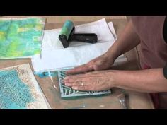 Gelli® Plate Printing: Mixed-Media Monoprinting Book | InterweaveStore.com