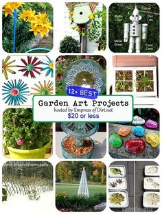 12 More Garden Art Projects Under $20