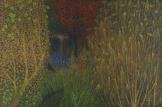 Richard Cartwright - The Garden in Autumn -  Pastel 40 x 60 ins (101.60 x 152.40 cms)
