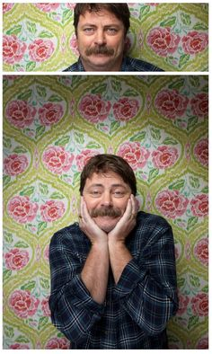 Nick Offerman.... Why oh why do I love him so much?!