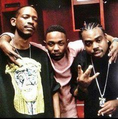 Kurupt,Kendrick Lamar and Daz Dillinger.