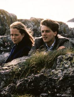Jenny Seagrove and Peter Capaldi in Local Hero (1983)