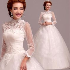 Cheap Wedding Dresses on Sale at Bargain Price, Buy Quality 2276 from China 2276 Suppliers at Aliexpress.com:1,Item Type:Wedding Dresses 2,Image Type:Actual Images 3,Back Design:Lace Up 4,Sleeve Style:Cap Sleeve 5,Waistline:Natural
