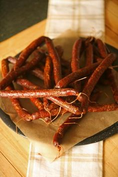 Making sausage with venison, pork and beef ends well, in the form of 10 pounds of summer sausage and 5 pounds of snack sticks. Venison Summer Sausage Recipe, Summer Sausage Recipes, Homemade Sausage Recipes, Venison Snack Stick Recipe, Deer Snack Stick Recipe, Pepperoni Recipes, Deer Recipes, Wild Game Recipes, Jerky Recipes