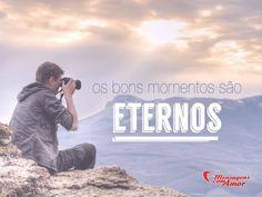 Os bons momentos são eternos! #vida #fe #momentos #mca