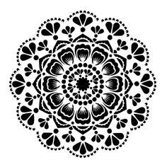 mandala stencil 5. Mylar 125 micron. Size 12/12 inches. Also available in 6/6 inches. PLEASE CHECK MY OTHER LISTINGS FOR OTHER SIZES AND NEW STENCIL DESIGNS ADDED WEEKLY lovestencil