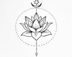 Afbeeldingsresultaat voor lotus flower art