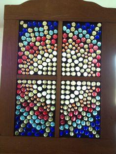 Sunshine Window Art, Window Frames, Window Ideas, Garden Totems, Glass Garden, Shattered Dreams, Old Windows, Glass Design, Colored Glass