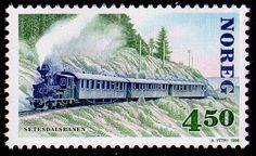 Norway, stamp of the Setesdal railway