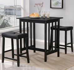 9399 3 Piece Counter Table and Stool Set by World Imports - Wolf Furniture $155