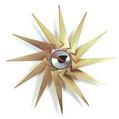 "Джордж Нельсон, Turbine Clock, ""Часы-турбина"", 1957 год."