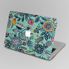 Flower back cover of Decal Macbook Air Sticker Macbook by FindFun, $16.00