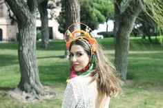 Tropical bride. Details Présence Africaine. Cotonnus. Verbena Madrid.