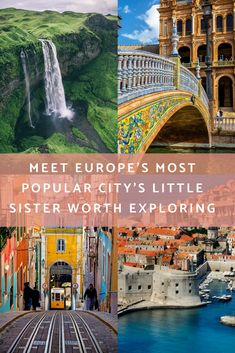 The most popular destinations in Europe and where you should travel instead Seville Spain, Dubrovnik Croatia, Faroe Islands, Lisbon Portugal, Most Popular, European Travel, Little Sisters, Where To Go, Continents