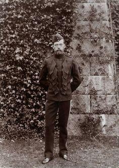EMPEROR NICHOLAS II Emperor Nicholas II in the uniform of the Scots Greys, Balmoral September 1896.