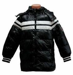 Warme Jungen Winterjacke, Outdoorjacke, schwarz, Gr. 122, 134, 146, 158, 170   eBay