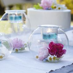 Our Clearly Creative collection makes for the perfect decoration at a #teaparty