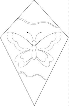 Color Your Own Paper Kites | Homan at Home