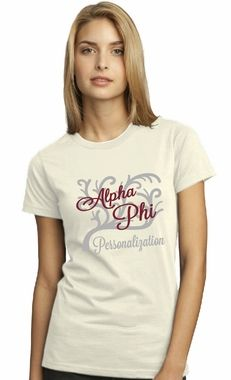 Alpha Phi Branches Tee