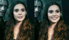 Wanda Maximoff. Her smile is so bright though... < Her smile gives meh life