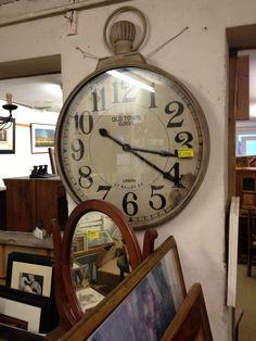 Big old vintage clock I found in a shop
