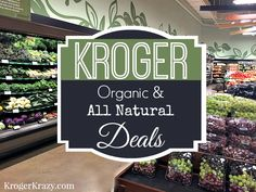 kroger organic deals