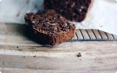 The means to the end | Chocolate Olive Oil Zucchini Bread — seven spoons