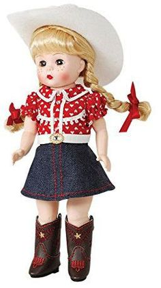 "Madame Alexander Boots and Bling 8"" Doll"