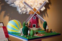 En güzel dekorasyon paylaşımları için Kadinika.com #kadinika #dekorasyon #decoration #woman #women gingerbread windmill