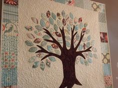 Jedi Craft Girl: Family Tree Quilt & Vinyl Saying