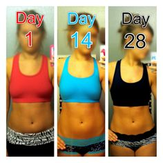 """day 28 of BeFit a free 90 day video workout. this is only day 28 and im so much more toned than i was. this system is more of a life change than lose weight fast, its great! expect to see huge results in the next 2 months!"""