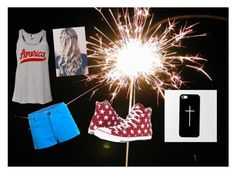 """the 4th"" by marygrace953 on Polyvore featuring Graham & Brown, Casetify and Converse"