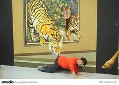 3 Boyutlu Tabloların Bir Parçası Olabileceğiniz Art In Island Müzesinden 18 Kare