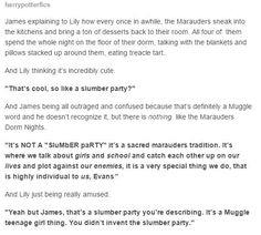 Haha and Remus totally knew about it but wasn't going to burst James & Sirius' bubble Harry Potter Quotes, Harry Potter Love, James Potter, Harry Potter Universal, Harry Potter Fandom, Yer A Wizard Harry, Jily, Mischief Managed, The Marauders