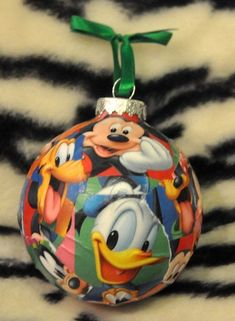 Bring Disney magic to your Christmas tree with these DIY Disney Christmas Decorations featuring Mickey and Minnie Mouse