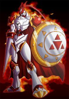 Gallantmon, Love his shield