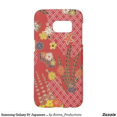 Samsung Galaxy S7 Japanese Pink Floral Phone Case Samsung Galaxy S7 Case