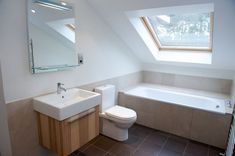 Nice 30+ Attractive Small Attic Bathroom Design Ideas. # #AtticBathroomDesign