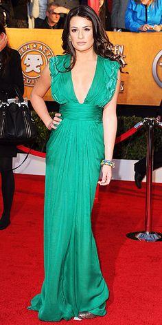 Lea Michele, SAG Awards 2010