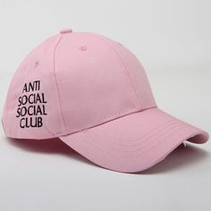 Fashion Letters Embroidery Baseball Cap For Women (PINK)   Sammydress.com