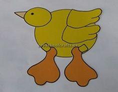 Duck Craft Ideas for Kids - Preschool and Kindergarten | Duck crafts ...