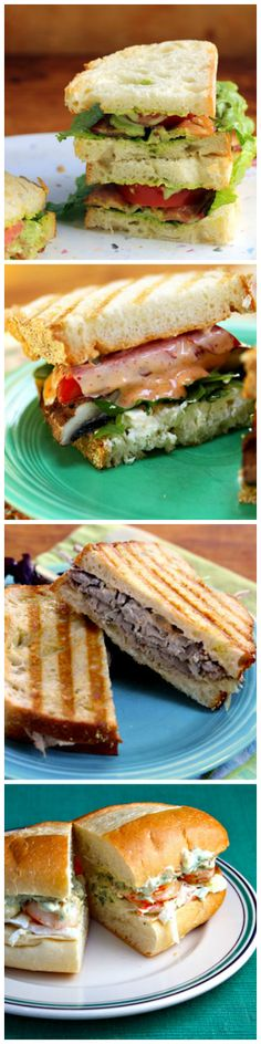 Seven super sandwiches for summer suppers, picnics, and weekend lunch!