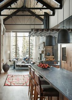 Could retire here - loving this ...Breathtaking mountain modern home deep in the Montana forest