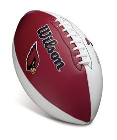Wilson Arizona Cardinals Autograph Official Size Football by Wilson. $29.95. Wilson Arizona Cardinals Official Size Team Autograph FootballImportedTeam logoTeam color panelOfficially licensed NFL productLacing detailInflate 7-9 lbs.Team color panelTeam logoInflate 7-9 lbs.Lacing detailImportedOfficially licensed NFL product
