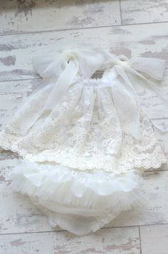 Newborn Dress Prop. Vintage Style Top and Pants by verityisabelle